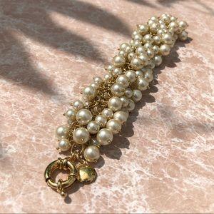 JCrew chunky pearl bracelet